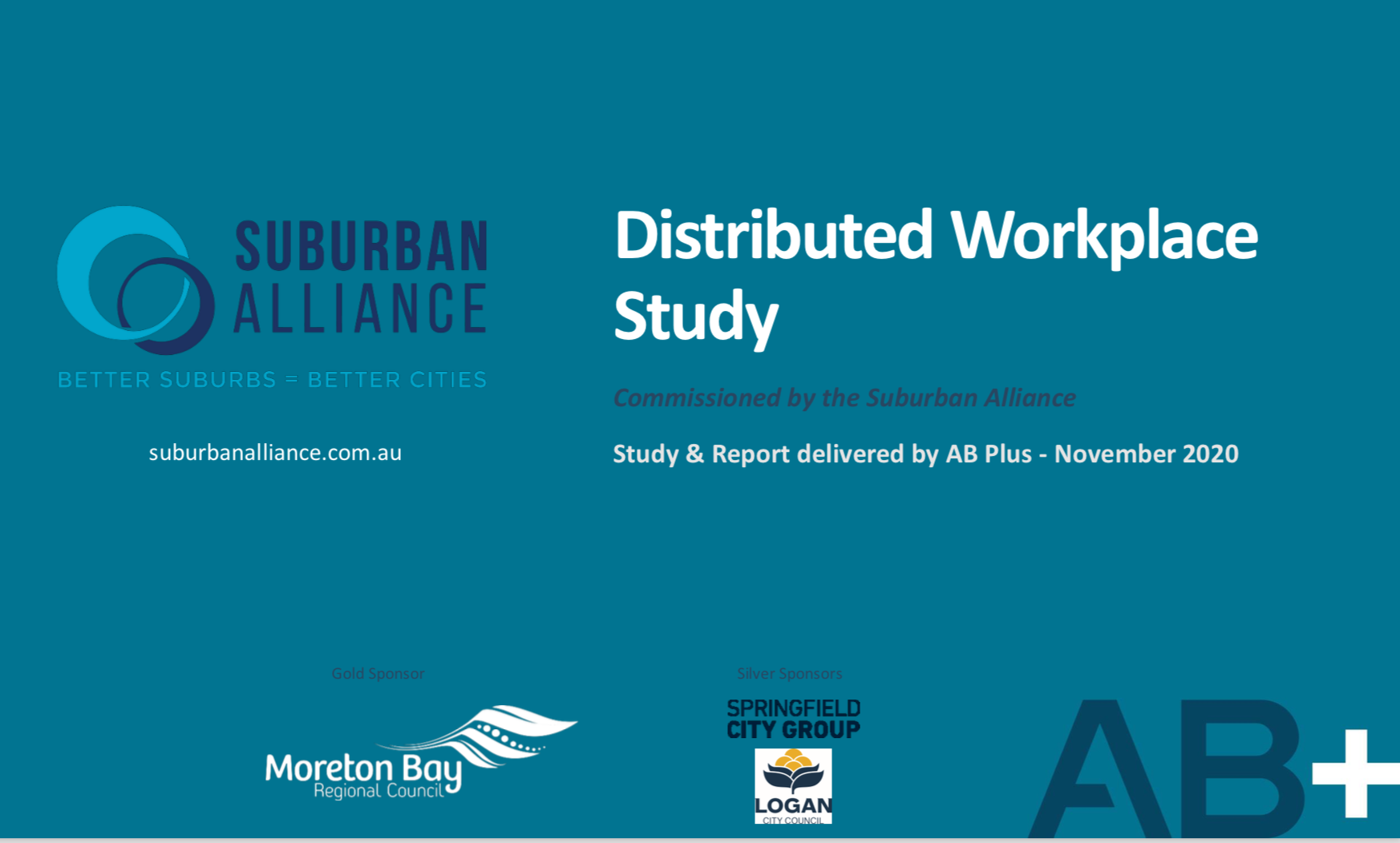 Distributed Workplace Study